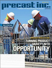 PRECAST INC. MAGAZINE cover