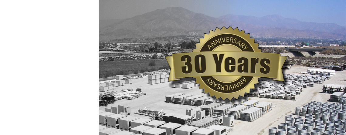 30 Years of Offering Quality Service and Excellent Products!
